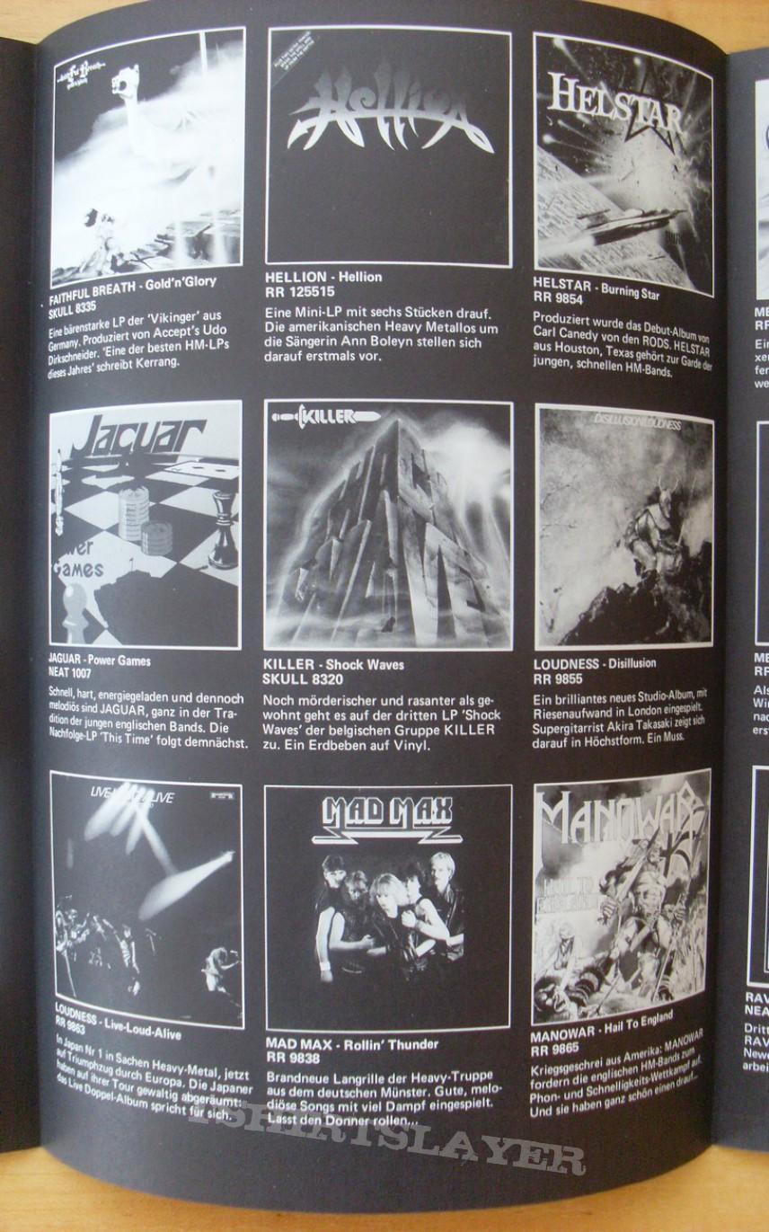 Old vinyl advertising 1984!