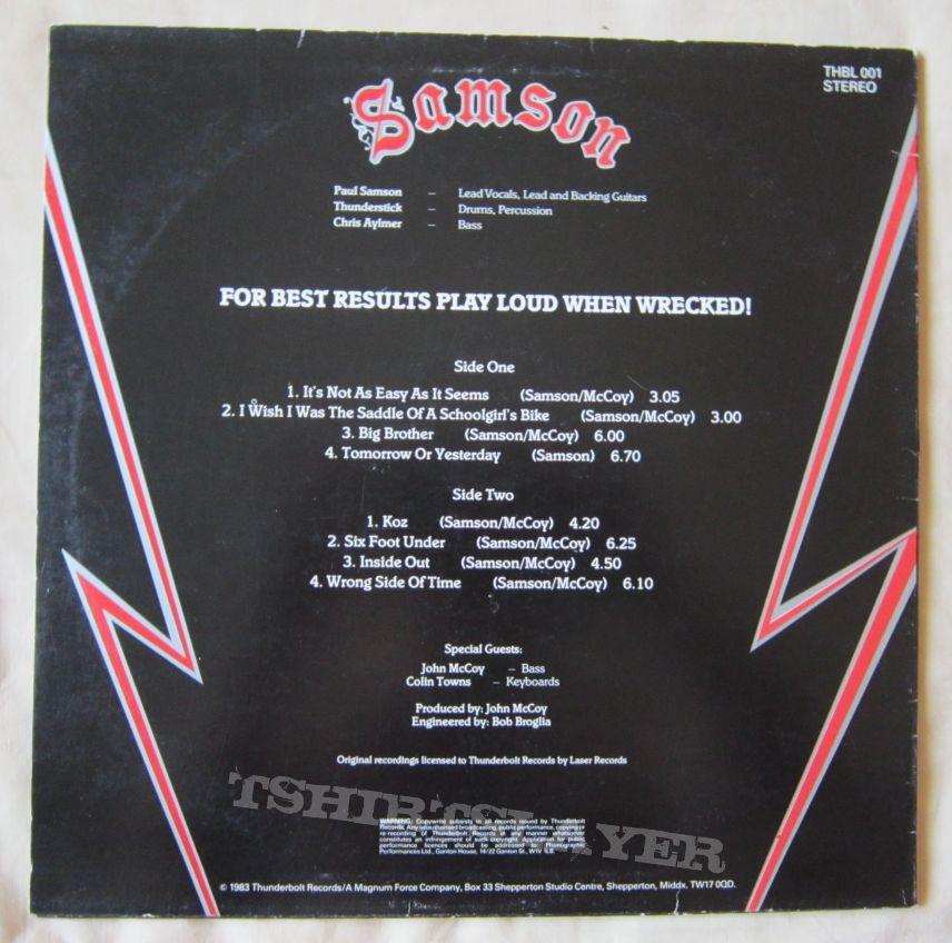 SAMSON Survivors LP 1983