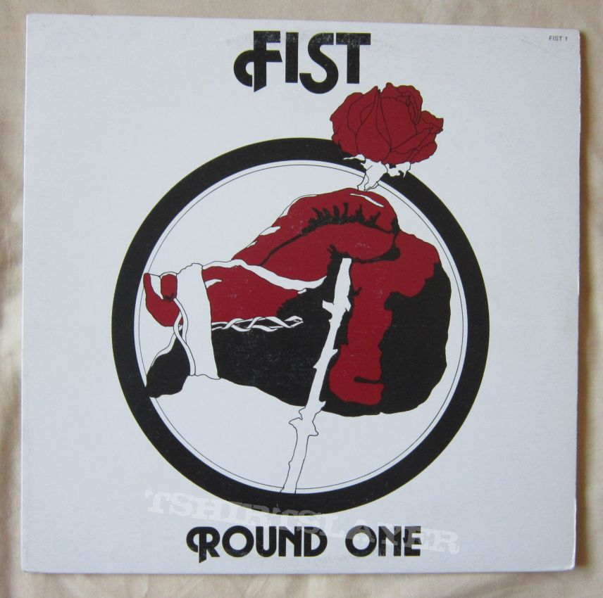 FIST Round one - Canadian hard/heavy LP 1978