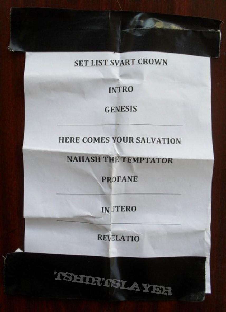 Setlist collection