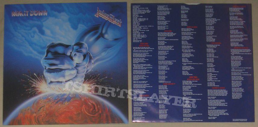 JUDAS PRIEST - ram it down LP 1988
