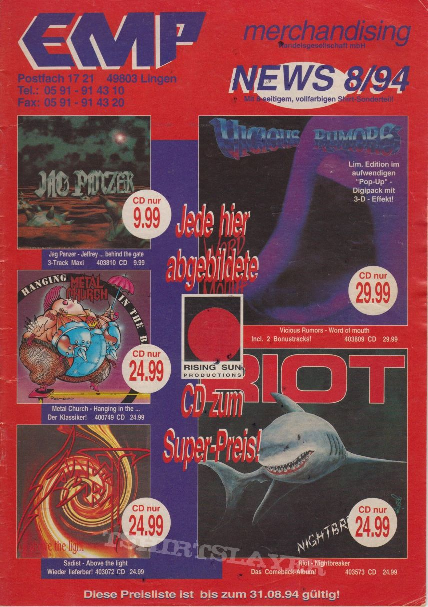 EMP catalogue 1994/8