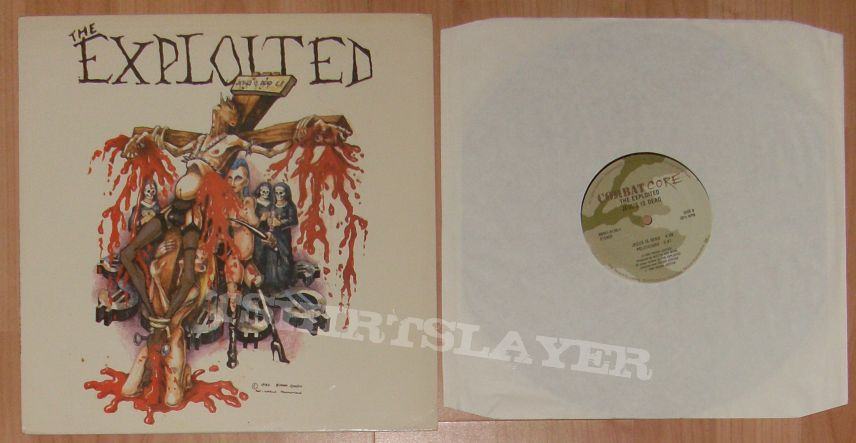EXPLOITED record collection almost all first press