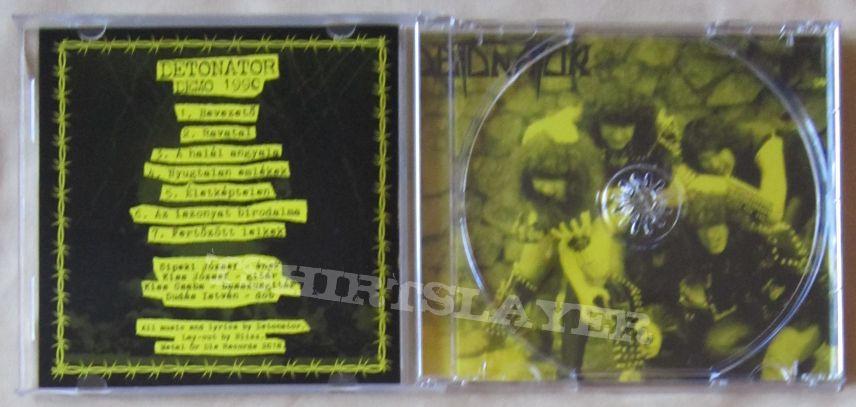 DETONATOR demo 1990 cult hungarian death/thrash/black metal CD