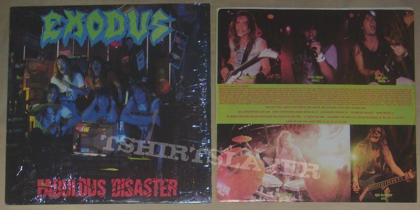 EXODUS fabolous disaster US Combat record 1989