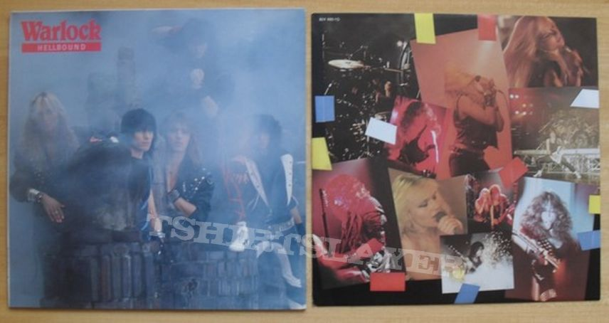 My warlock and doro vinyls