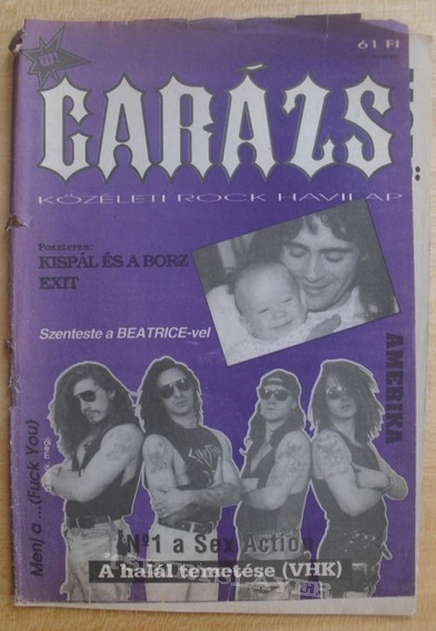 Hungarian metal magazines and fanzines from the past