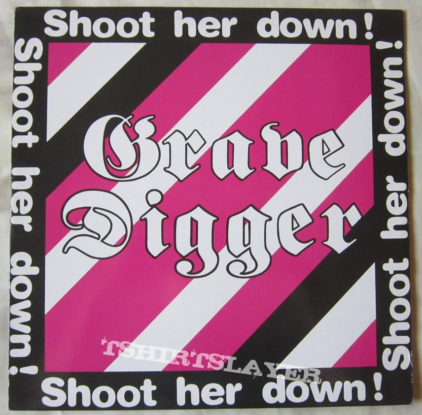 Grave Digger - Shoot her down EP 1984