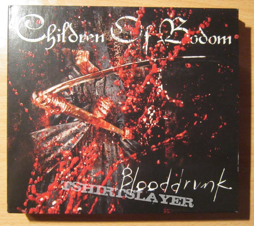 Children Of Bodom - Blooddrunk digipack cd + dvd