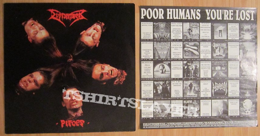 DISMEMBER - Pieces EP 1992