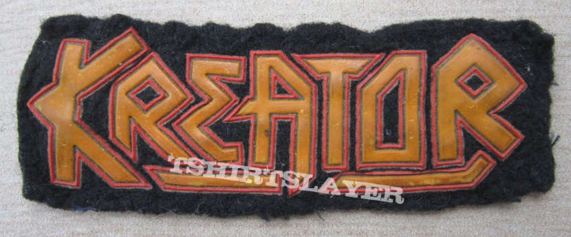 KREATOR old rubber patch from 80's