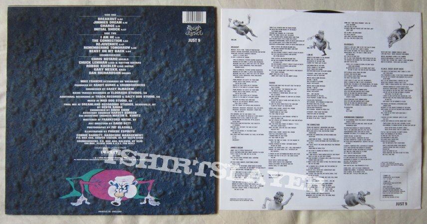 Crumbsuckers - Beast on my back LP 1988
