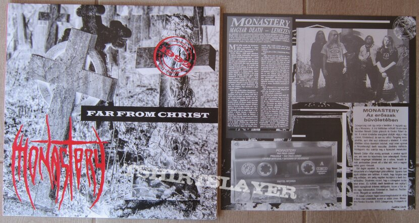 MONASTERY - Far from christ - Hungarian death metal LP 1992/2021