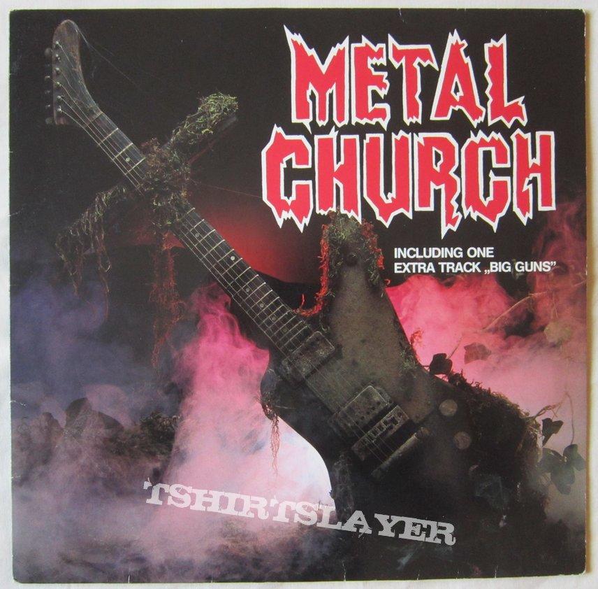 Metal Church first LP 1984 german press