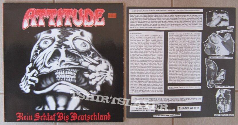 ATTITUDE - Kein Schlaf Bis Deutschland - Mini-LP 1987