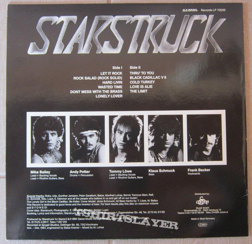 STARSTRUCK - Thru' to you LP 1984
