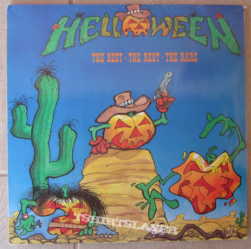 HELLOWEEN - The best the rest the r.re 2LP 1991