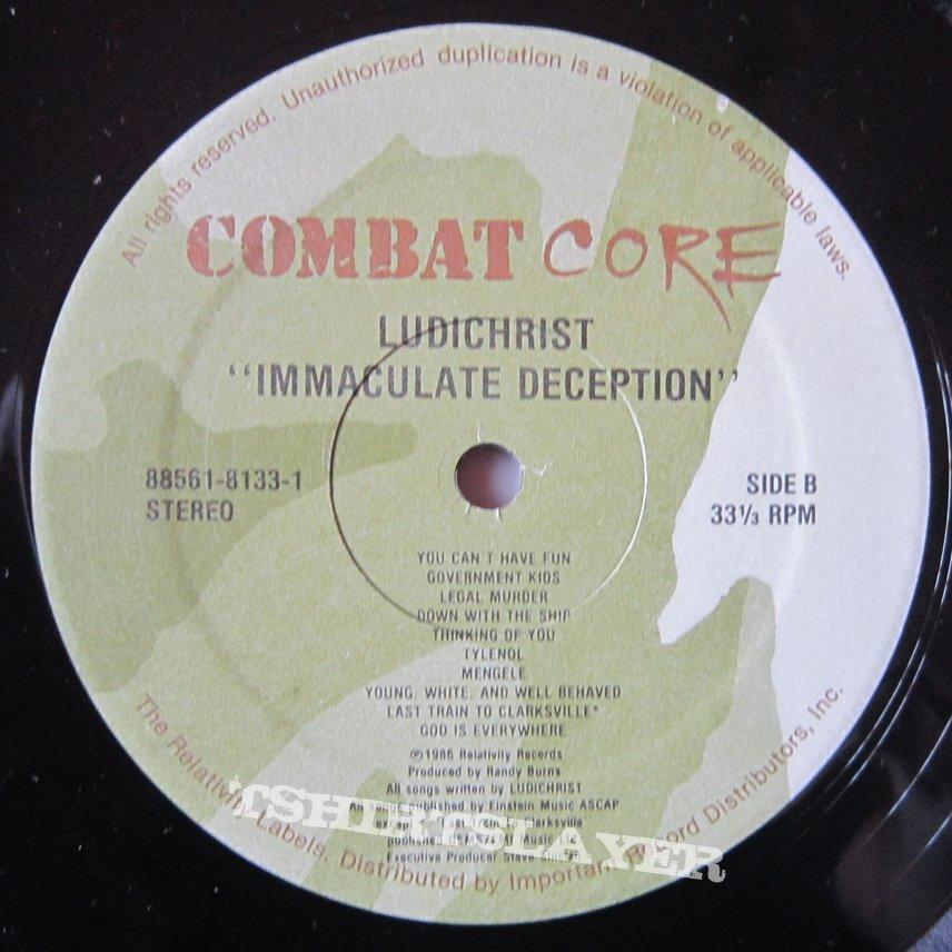 LUDICHRIST - Immaculate deception LP US press 1986