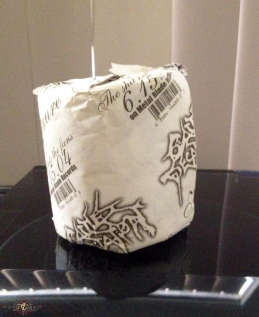 Cattle Decapitation Toilet Paper