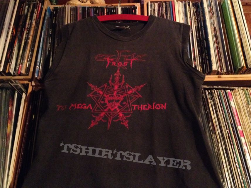 Celtic Frost - To Mega Therion 1985 orig. muscle shirt