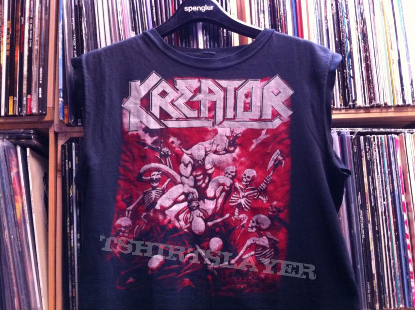 Kreator - Pleasure to Kill 1986 original muscle Shirt
