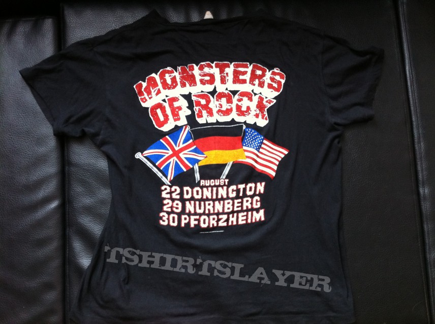Monsters of Rock 1987 original Festival Shirt