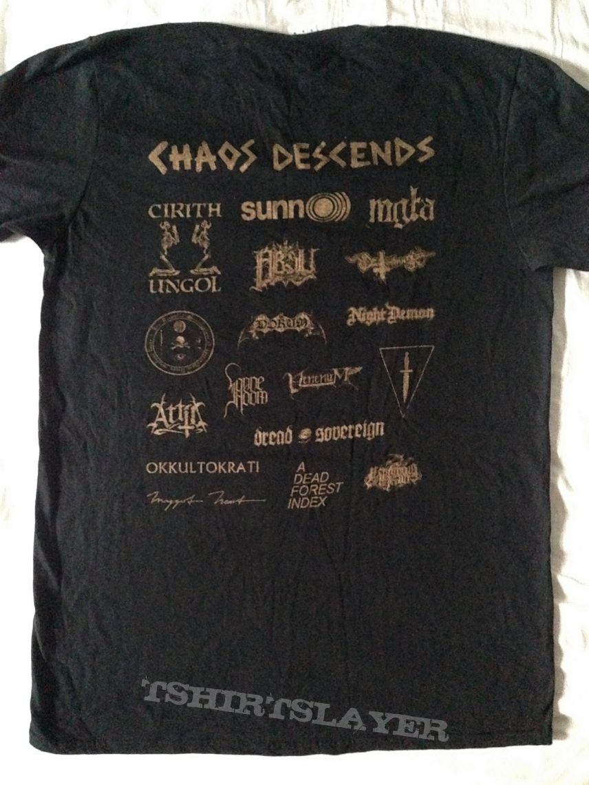 Chaos Descends 2017 Festivalshirt