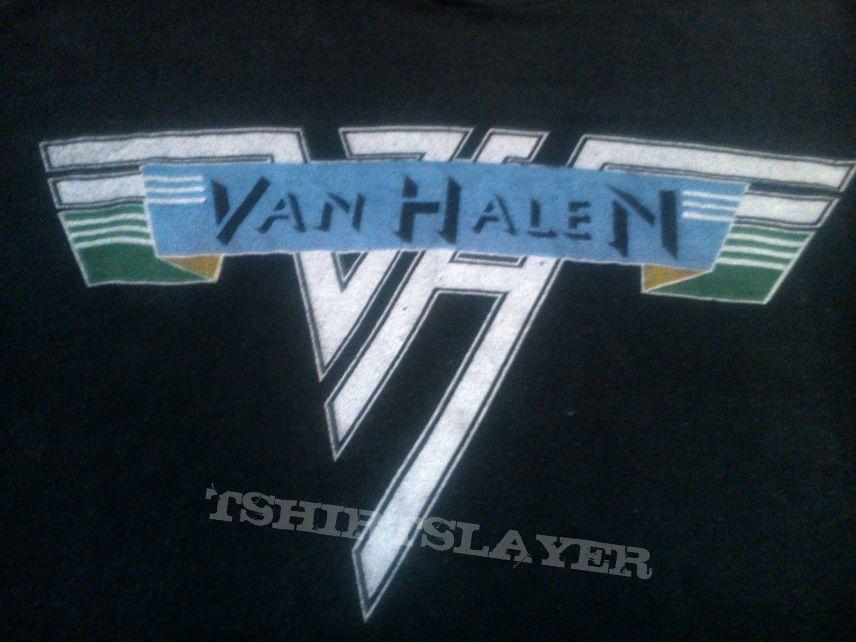 VAN HALEN Original 1978 USA Tour Tshirt