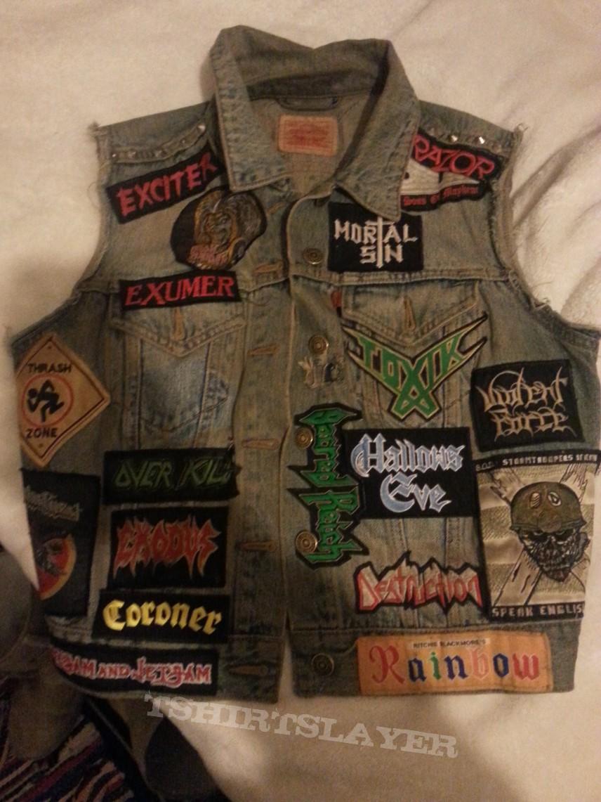My Battle Jacket - DIY Paint Job on Back