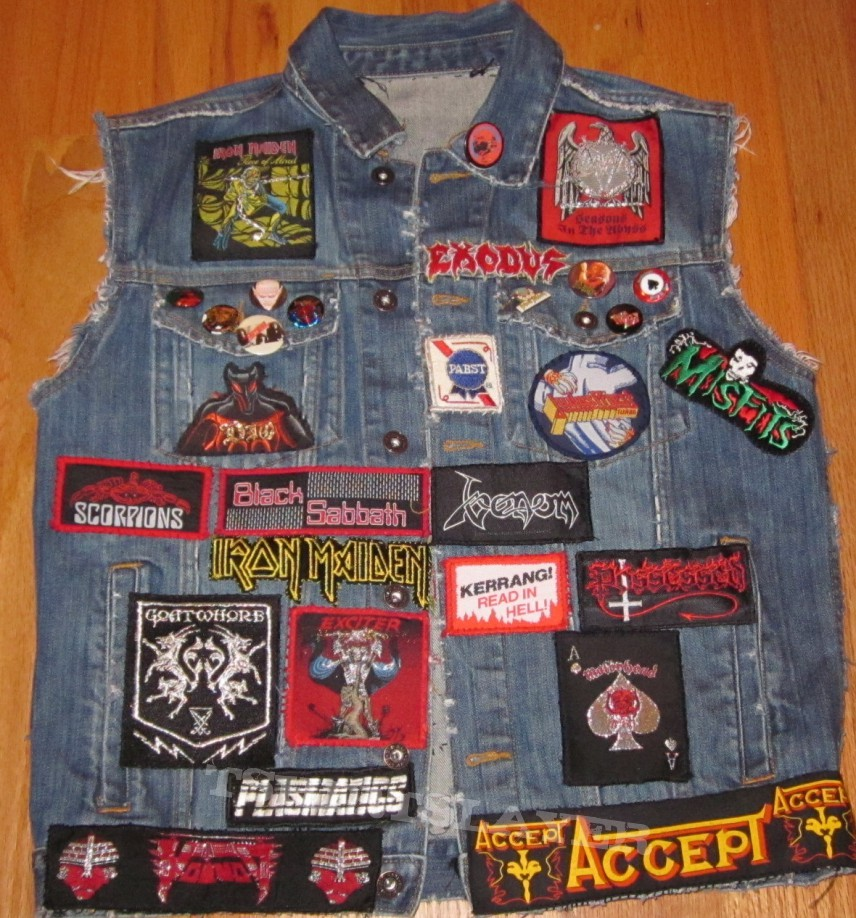 Battle Jacket - My Battle Jacket Vest Update!