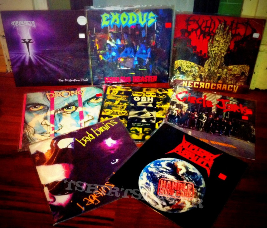 Metal Records! Vinyl!