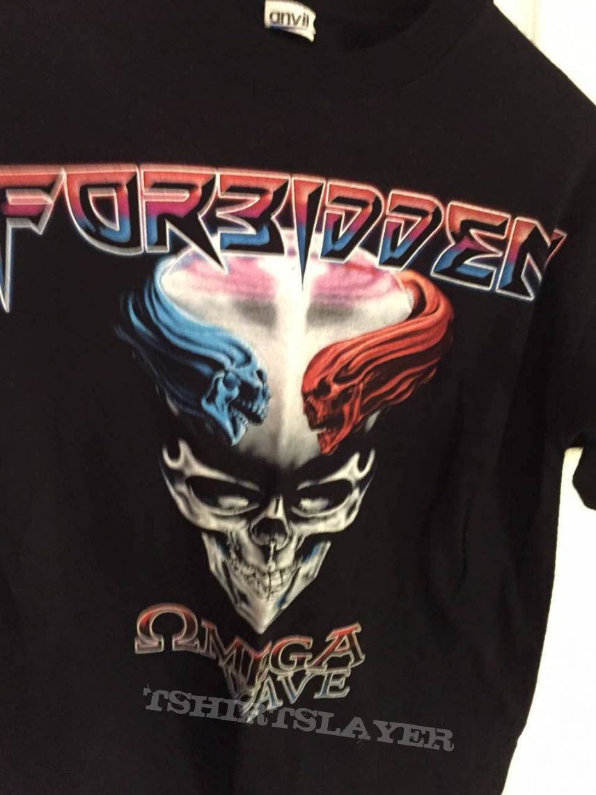 Forbidden omega wave 2010 tour shirt