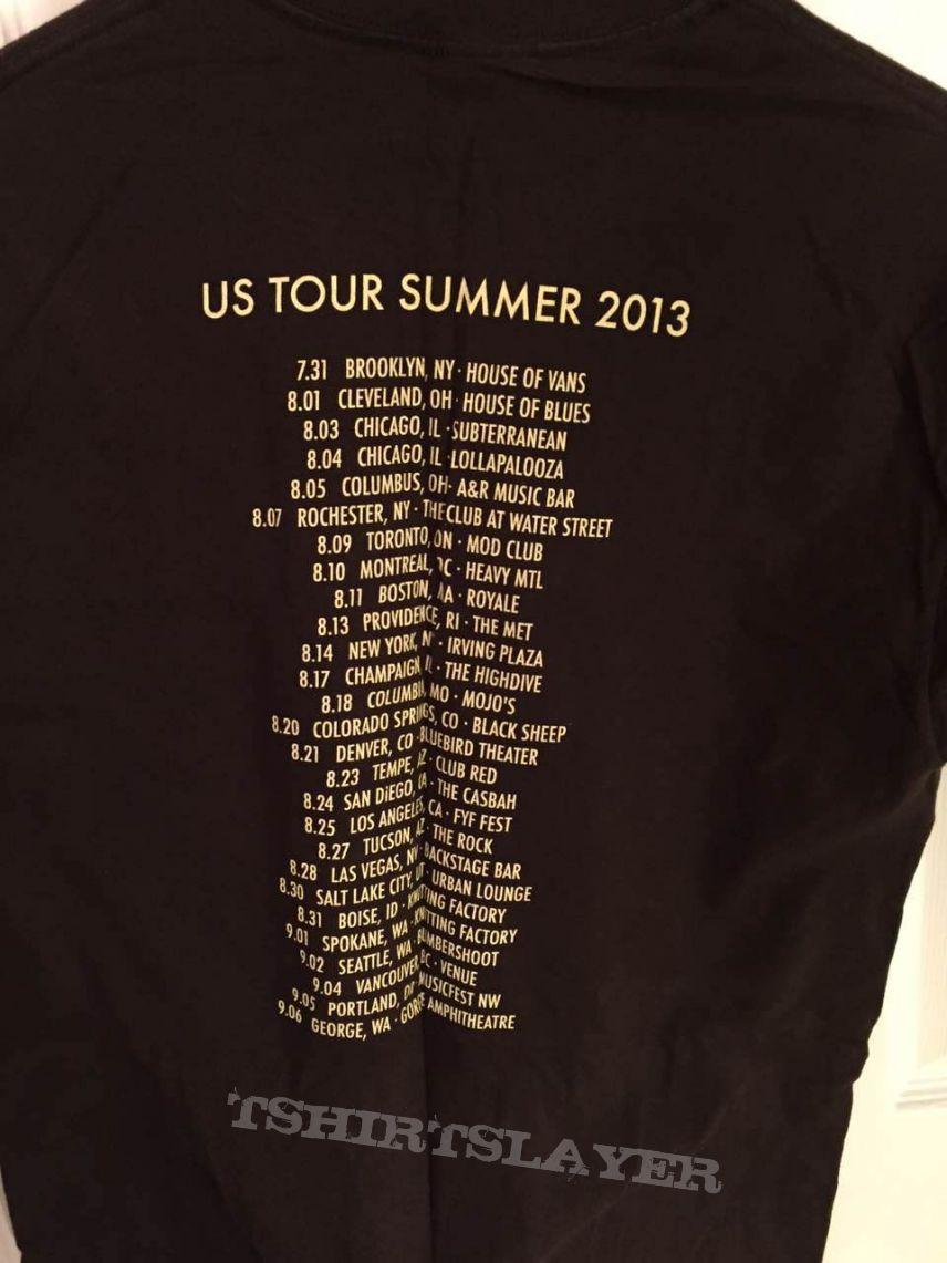 Baroness 2013 tour shirt