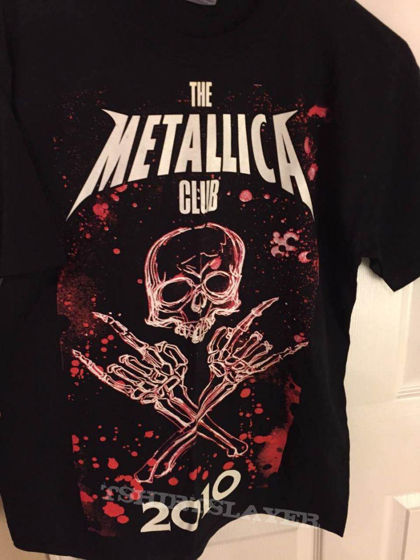 Metallica Fan Club shirt 2010