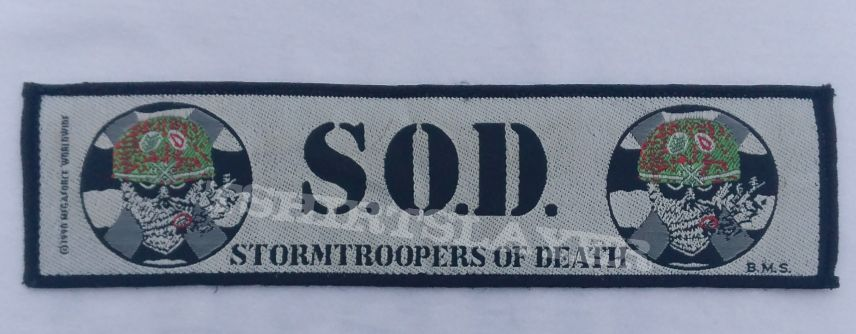 S.O.D. Stripe (Official Patch)