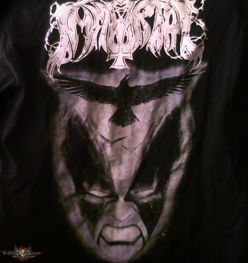 Immortal - Nebular Raven Winter Tshirt
