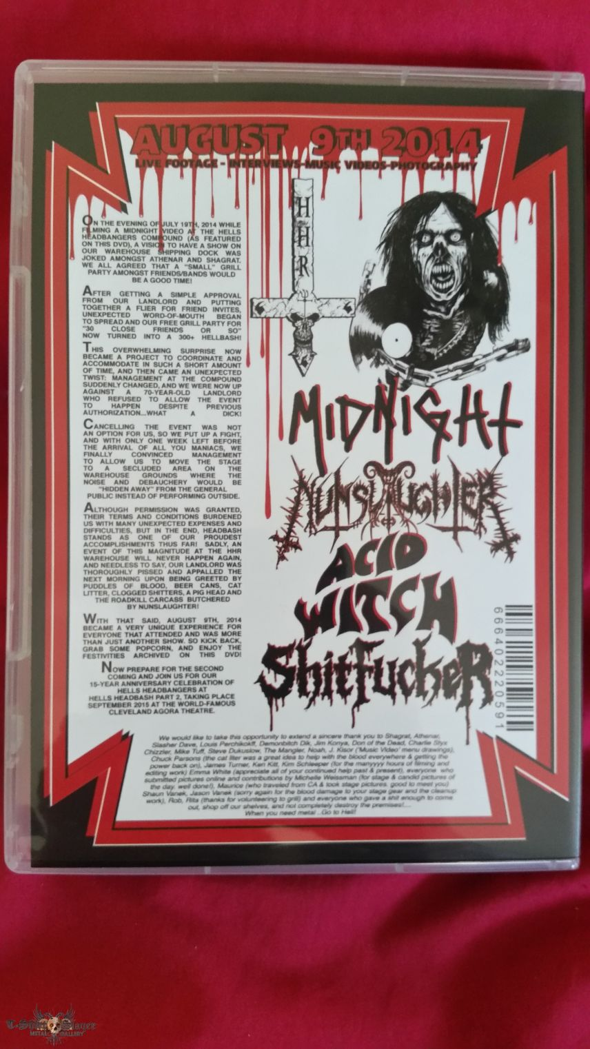 Hells Headbash concert dvd