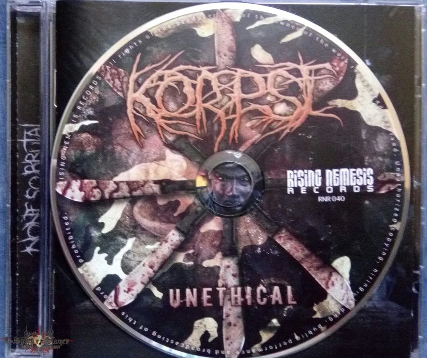 Korpse - Unethical CD
