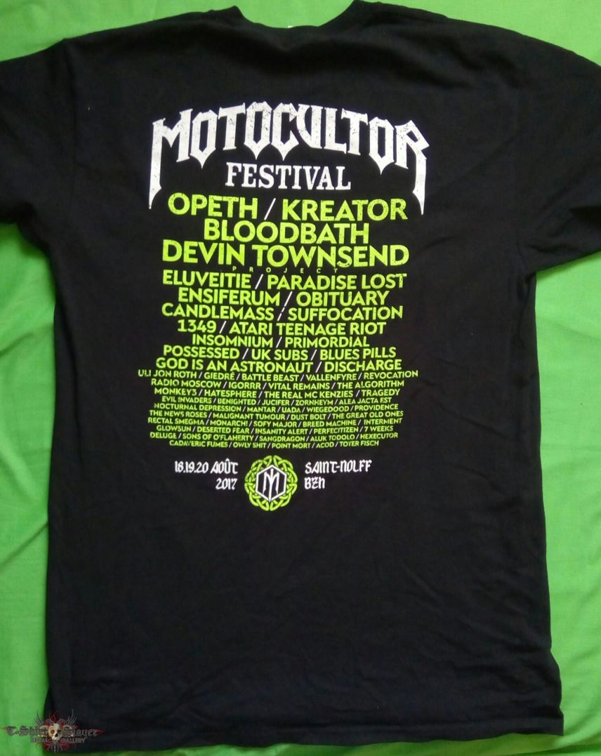 Motocultor 2017 Shirt