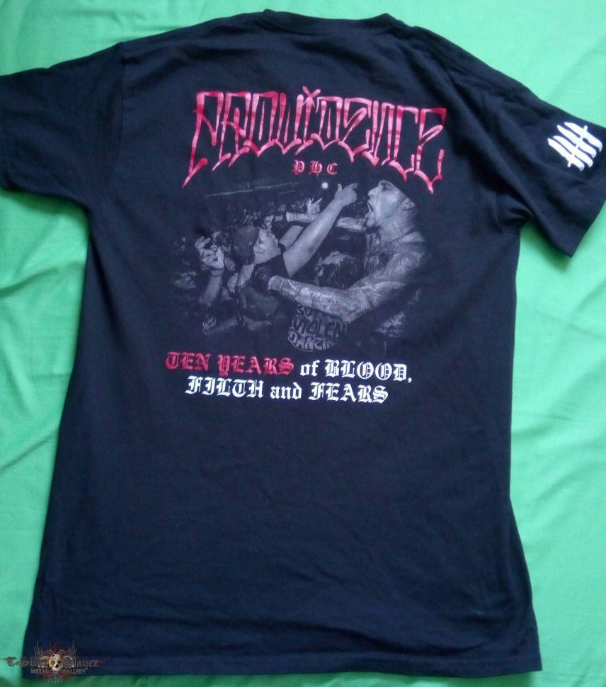 Providence Ten Years shirt