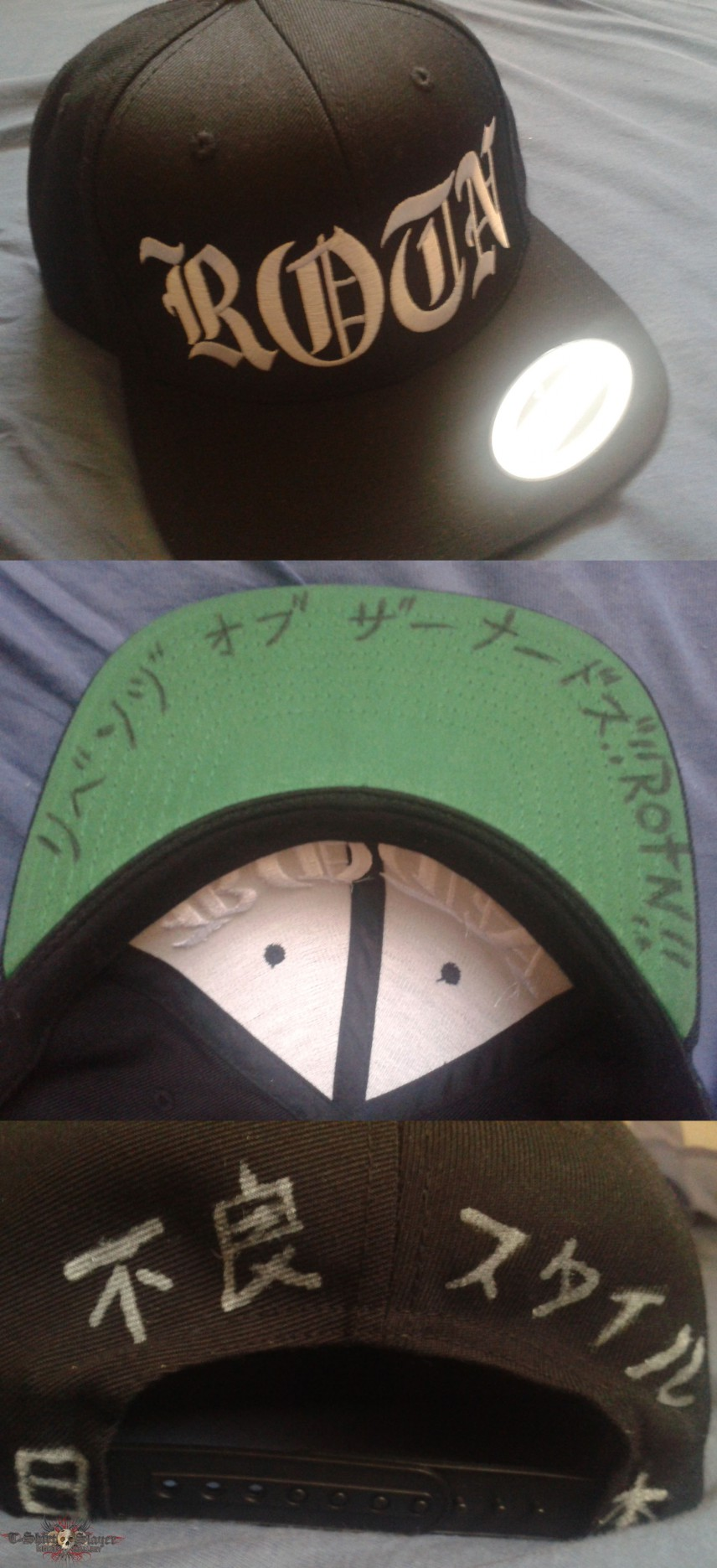 Rise of The NorthStar Cap Snapback /w scribbles