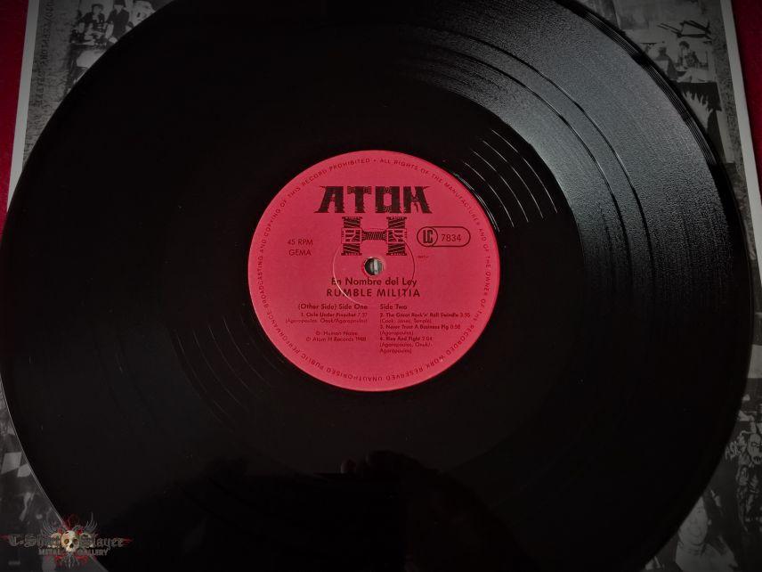 Rumble Militia – En Nombre Del Ley   Vinyl