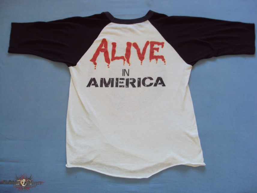 Iron Maiden Alive in America Jersey