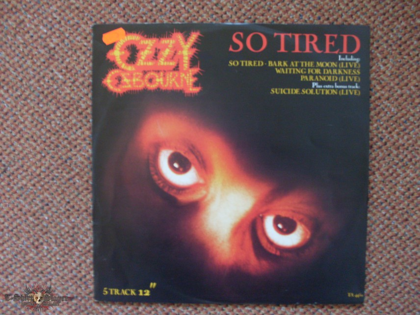 Ozzy Osbourne,So Tired - LP