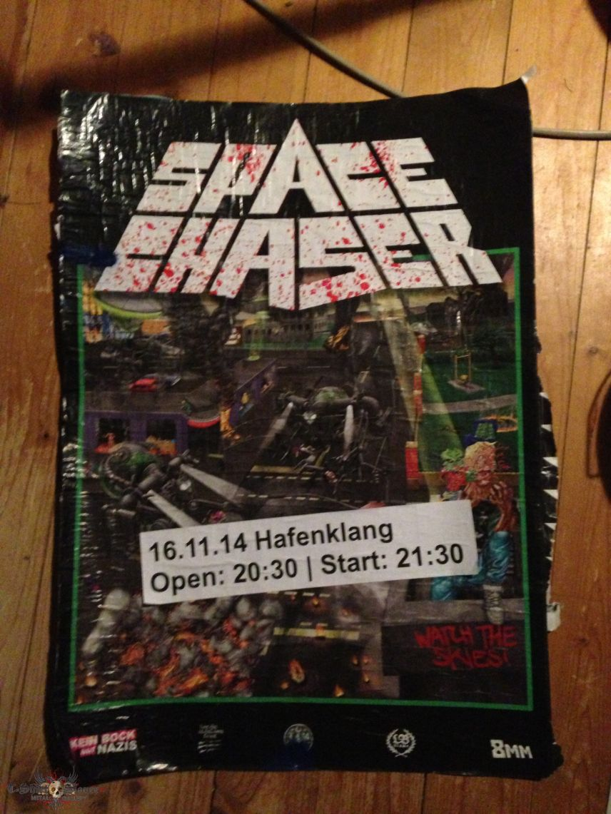 Space Chaser Tour Poster