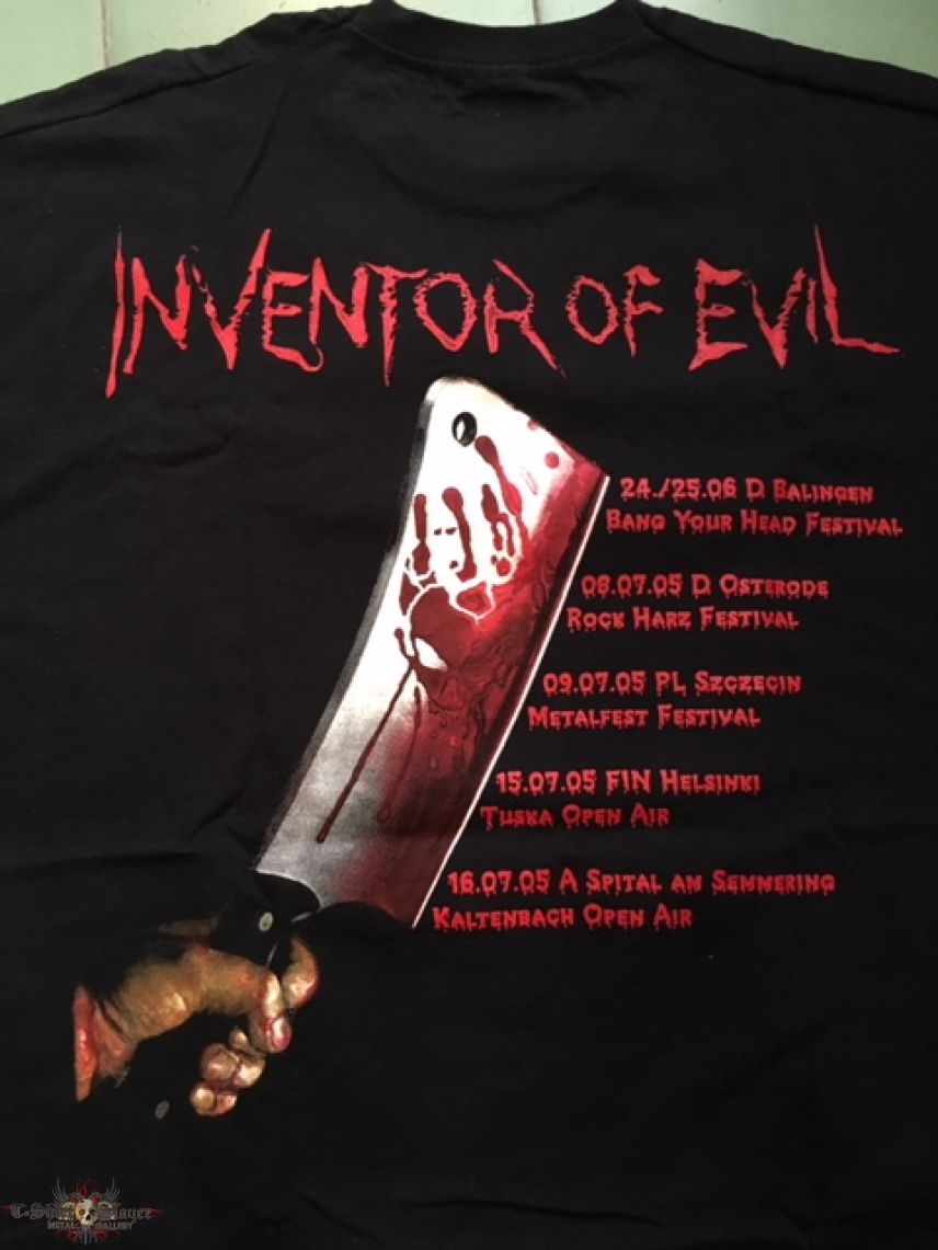 Destruction - Inventor Of Evil Euro Tour 2005 TS