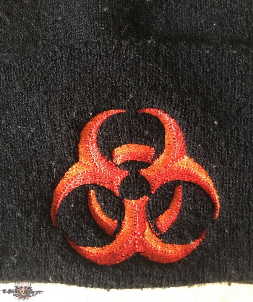 Biohazard beanie