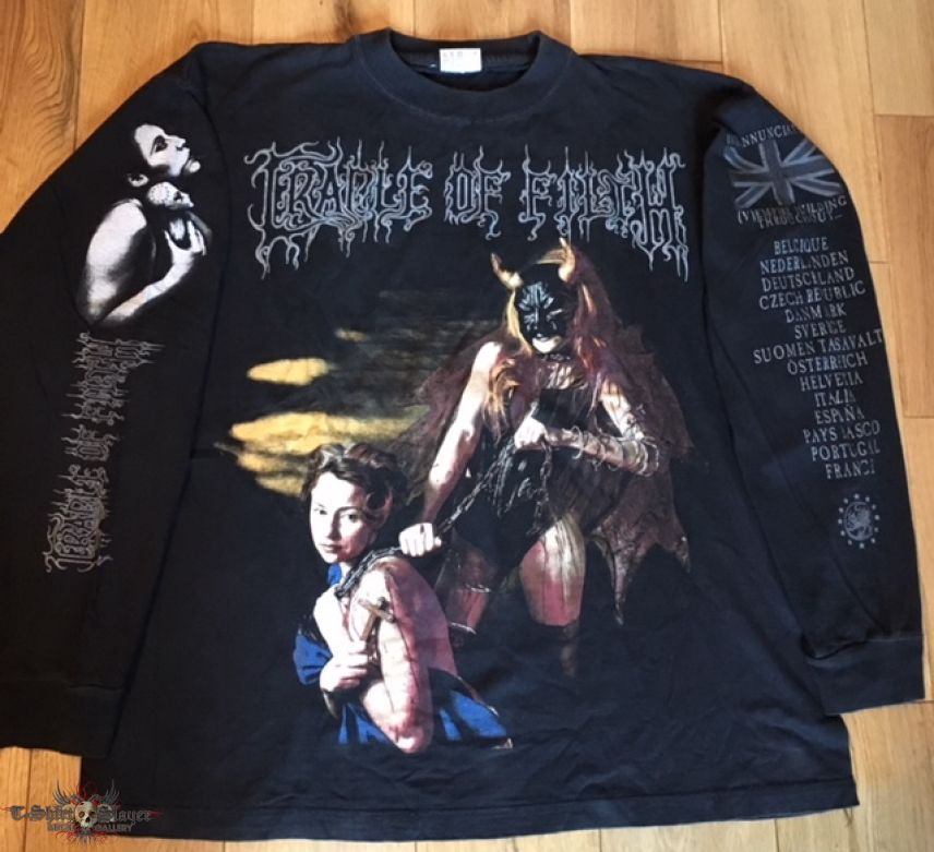 Cradle Of Filth - The Rape And Ruin Of Europe Tour 97 LS