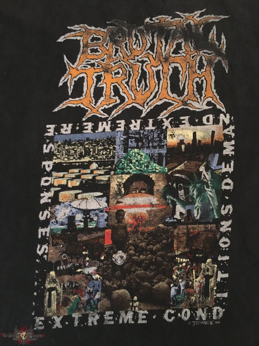 Brutal Truth - Extreme Conditions Demand Extreme Responses TS