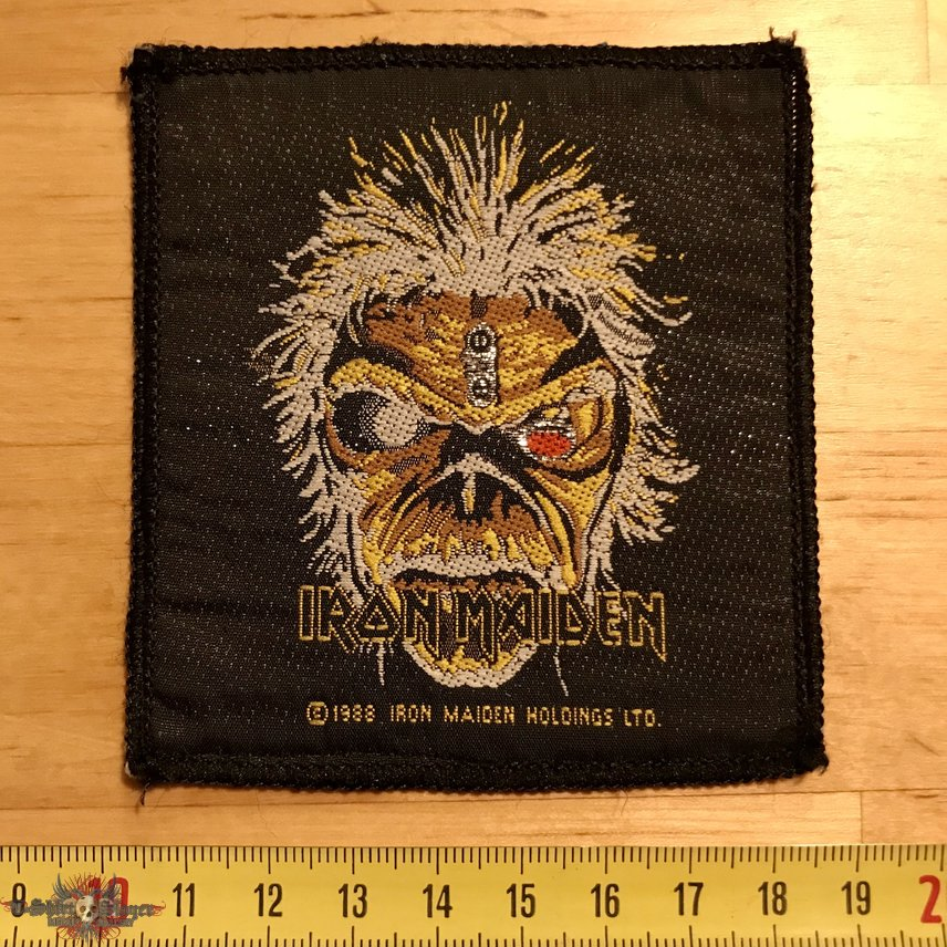 Iron Maiden - The Clairvoyant Patch 1988 OG